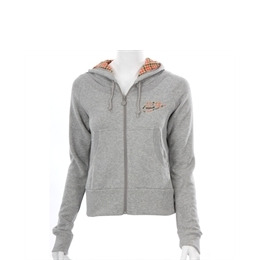 Nike Grey Checked Hood Zip Sweatshirt Reviews
