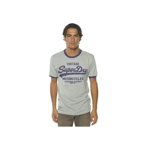 Photo of Superdry T Shirt Sky Blue T Shirts Man