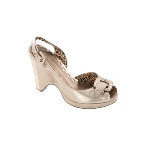 Photo of Seychelles Tan Open Toe Wedge Heels Shoes Woman