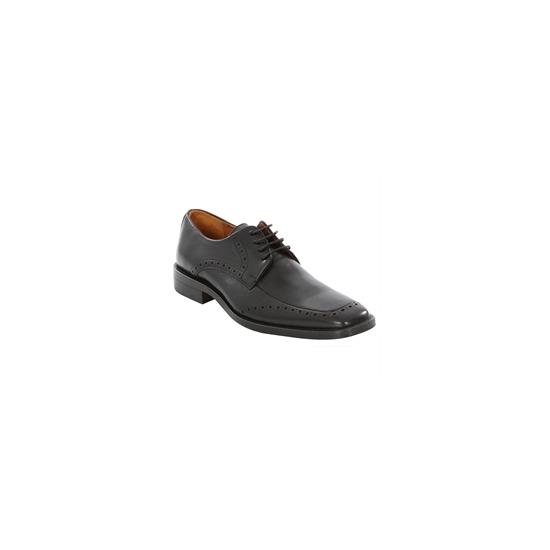 Gant easton leather shoe black