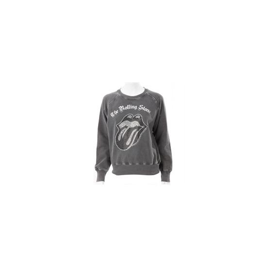 Amplified Black Rolling Stones Sweatshirt