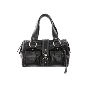 Photo of Dents Black Leather Mid Size Bag Handbag