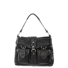 Dents Black Leather Messenger Style Bag Reviews