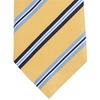 Photo of Altea Stripe Silk Tie Yellow Blue Accessory