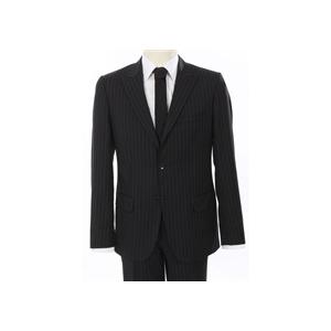 Photo of Calvin Klein Suit Black Pin Stripe Jackets Man