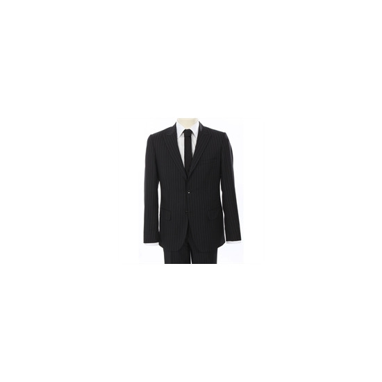 Calvin Klein Suit Black Pin Stripe
