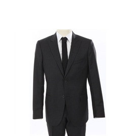 Calvin Klein Pin Stripe Suit Grey Reviews