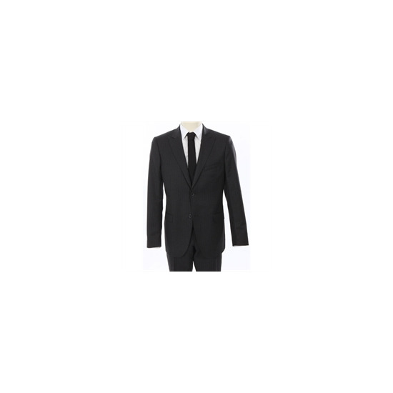 Calvin Klein Pin Stripe Suit Grey
