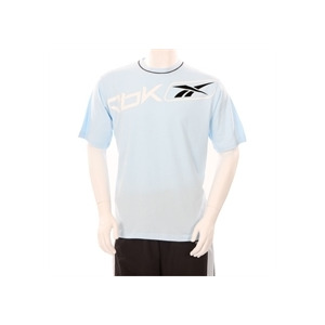 Photo of Reebok T Shirt Sky Blue Tops Man