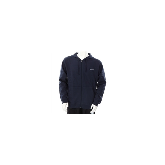 Reebok full zip sweat navy