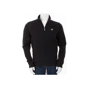 Photo of Adidas Full Zip Track Top Black Tops Man