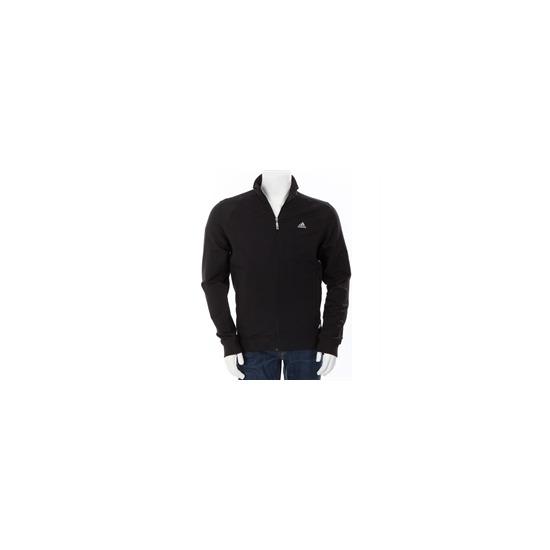 Adidas Full Zip Track Top Black