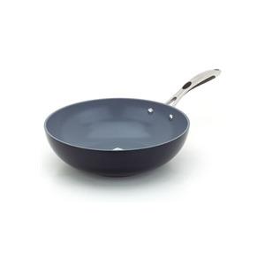 Photo of Typhoon Vienna Black 30CM Open Wok Cookware