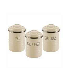 Typhoon Tea  Coffee and Sugar Storage Jars Cream Reviews