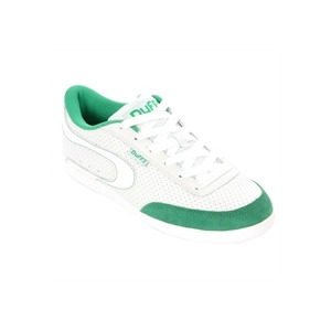 Photo of Duffs Skate Gambler White Green Trainers Man
