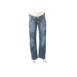 Photo of Firetrap Washed Blue Slouch Jean (32 Inch Leg) Jeans Woman
