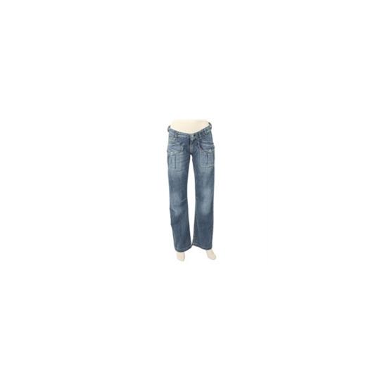 Firetrap Washed Blue Slouch Jean (32 inch leg)