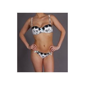 Photo of Odille Natural Fan Print Padded Bra Underwear Woman