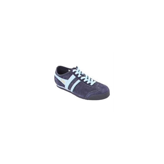 Gola Classic Navy Pale Blue Suede Harrier Trainer