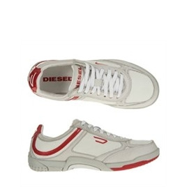 Diesel White and Red Trainers Reviews