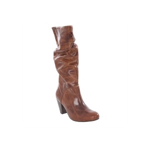 Photo of Firetrap Tan Leather Knee High Boots Shoes Woman