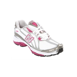 Photo of New Balance 645 White Pink Running Trainers Trainers Woman