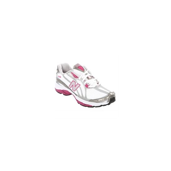 New Balance 645 White Pink Running Trainers
