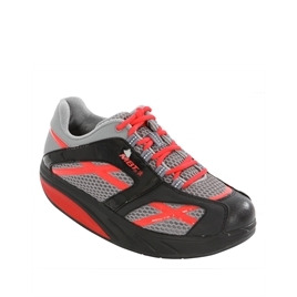 MBT M Walk Ladies Black And Red Training Shoe Reviews