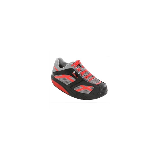 MBT M Walk Ladies Black And Red Training Shoe