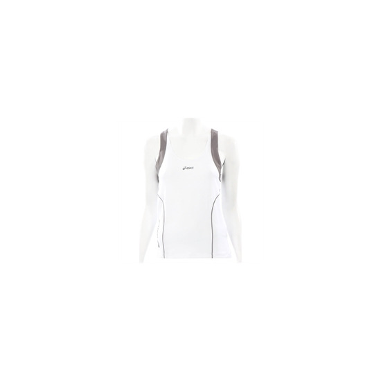 Asics White King Singlet