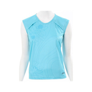 Photo of Asics Turquoise Peric Cap Sleeve Top Tops Man