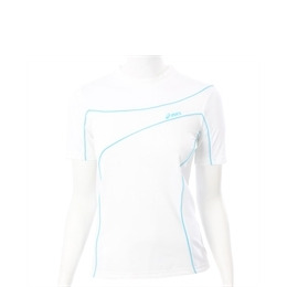 Asics White Peric Short Sleeve Roll Neck Top Reviews