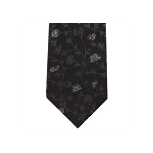 Photo of Stephens Brothers Floral Tie Black Accessory