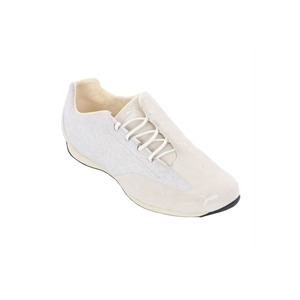 Photo of Puma Piratella Whisper Cream Leather Trainer Shoes Man