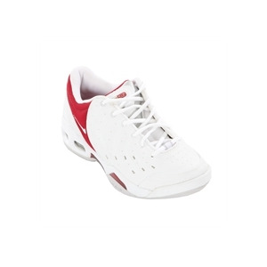 Photo of Nike Air Commit Trainers - White and Red Trainers Woman
