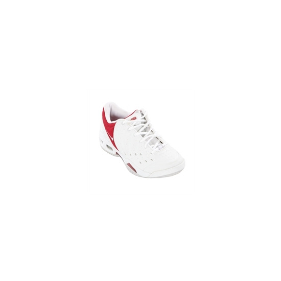 Nike Air Commit Trainers - White and Red
