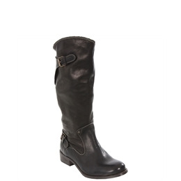 Diesel Black Amazzone II Calf Length Biker Boot Reviews
