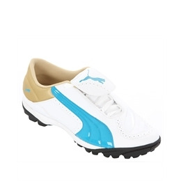 Ladies Puma White Blue Gold V-Kon II TT Reviews