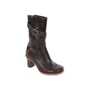 Photo of Timberland Rina Brigade Chocolate Calf Length Boot Shoes Woman