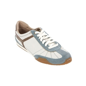 Photo of Diesel Dacosta Light Blue Suede Trim Trainer Trainers Man