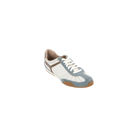 Diesel Dacosta Light Blue Suede Trim Trainer