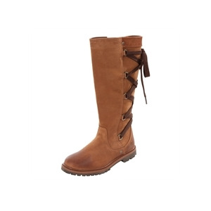Photo of Timberland Chocolate Prem 14INCH Lace Back Boots Shoes Woman