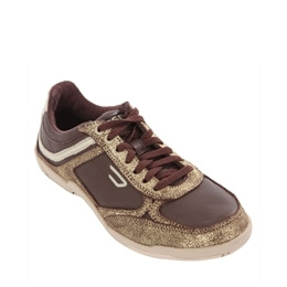 Diesel Maysport Chocolate And Gold Trainer Reviews