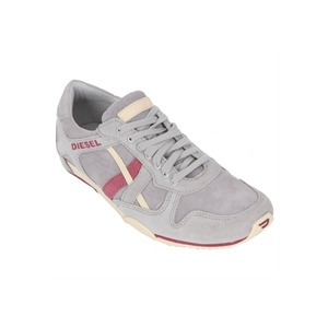 Photo of Diesel Paratroop Paramark Pink Stripe Lace Trainer Trainers Woman