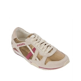 Diesel Paratroop Paramark Gold Lace Up Trainer Reviews