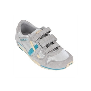 Photo of Diesel Paratroop Parawil Silver Velcro Trainer Trainers Man