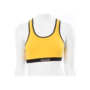 Photo of Shock Absorber Yellow Cross Back Sports Bra Sports and Health Equipment