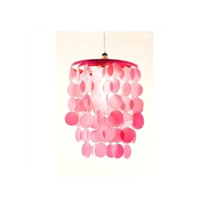 Photo of 3 Tier Disc Pendant Pink Home Miscellaneou