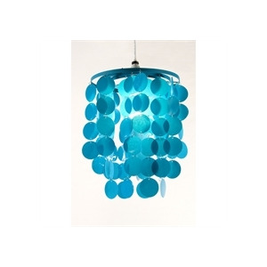 Photo of 3 Tier Disc Pendant Teal Home Miscellaneou
