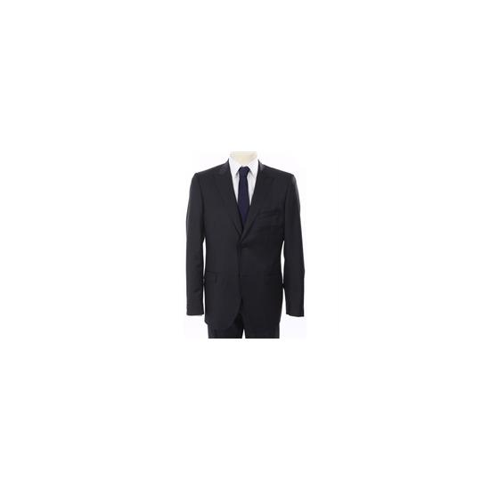 Calvin Klein Pin Stripe Suit Navy